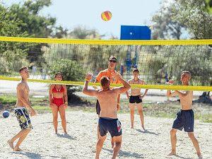 Готель Аквапарк Затока волейбол