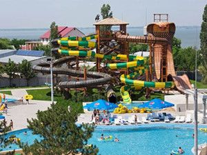 Готель Аквапарк Затока гірки