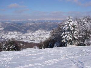 Покататися на лижах в Карпатах Красія