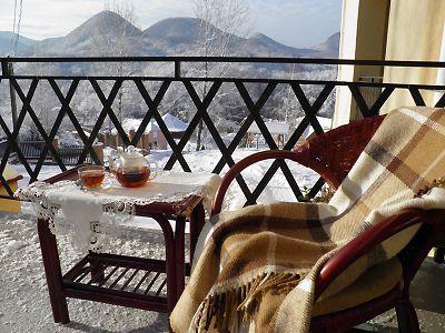 Відпочинок у Карпатах взимку, готель «Ерней-Лаз», Шаян
