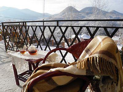 Відпочинок у Закарпатті з басейном, готель «Ерней-Лаз», Шаян