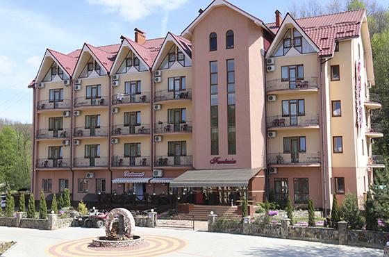 Поляна отель с бассейном