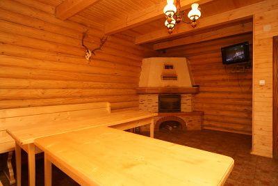 Відпочинок у Пилипці взимку, готель «Ґаздівська хижа»