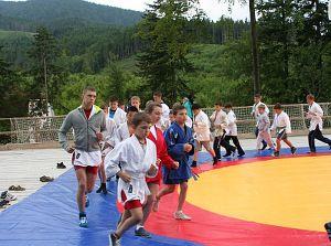 Детский лагерь в Карпатах