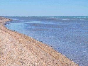 Пляж в Генічеської Гірці фото