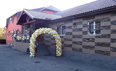 Готель-ресторан в Карпатах