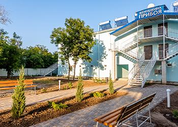 Готель Перлина Прибою Кирилівка