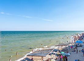 Перлина Прибою Кирилівка фото пляжу