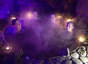 Міжгір'я Жива вода купання в чані