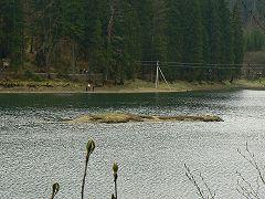 Озеро Синевир, острів