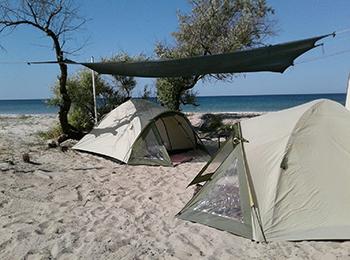 Відпочинок в наметах на море, наметовий табір «Гармонія»