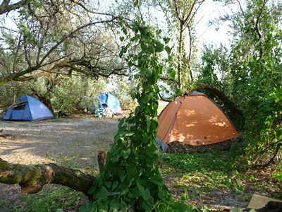 Відпочинок на Кінбурнській косі в наметі, наметовий табір «Гармонія»