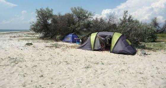 Отдых в палатках на море, палаточный лагерь «Гармония»