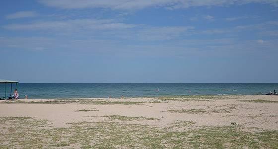 Генічеська Гірка пляжі