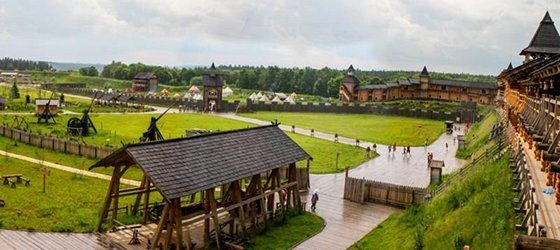 Парк Київська Русь амфітеатр