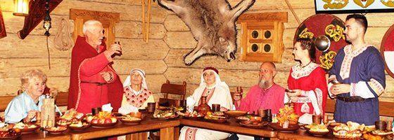 Корчма в Парку Київська Русь