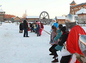 Древній Київ зима