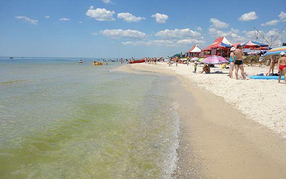 Приморське Більшовик пляжі фото
