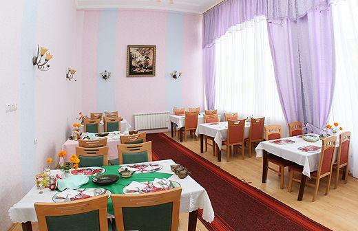 Санаторий «Черче», зал для коммерческого питания