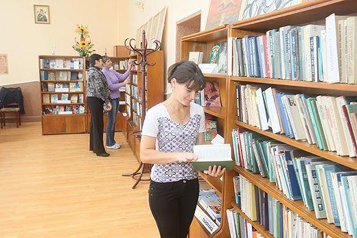 Санаторий «Черче», библиотека