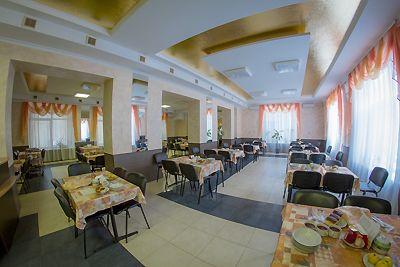 Відпочинок у Полтавській області з харчуванням, санаторій «Сосновий бір», їдальня