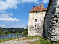 Свірзький замок, озеро