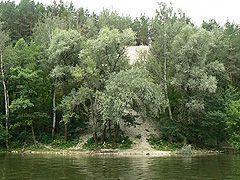 Курорт Святогірськ, крейдяні гори