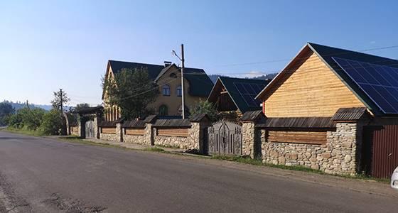 Садиба Релакс Репинне Карпати фасад фото