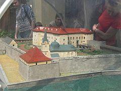 Ужгородский замок в миниатюре