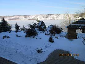відпочинок на Дністрі взимку