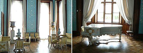 Воронцовский дворец, голубая гостиная