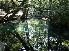 Воронцовский парк, Зеркальное озеро