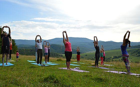 Карпати йога-табір