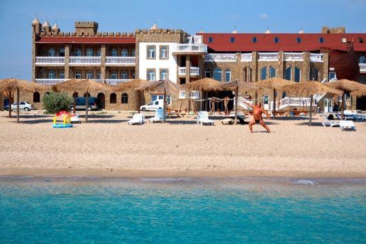 ЗАМОК ВИКИНГ  отдых на Черном море все включено 2018