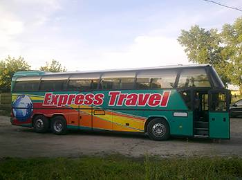 Автобус в Залізний Порт та Лазурне з Вінниці